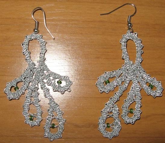 uhani srebrni s perlo